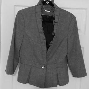 ‼White House Black Market Checkboard Jacket ‼